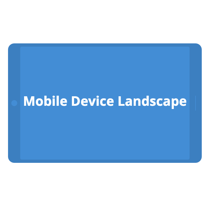 Mobile Device - Landscape